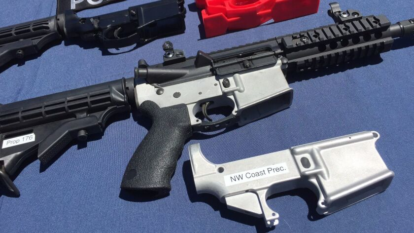 Ghost guns' are easy to build, legal and completely