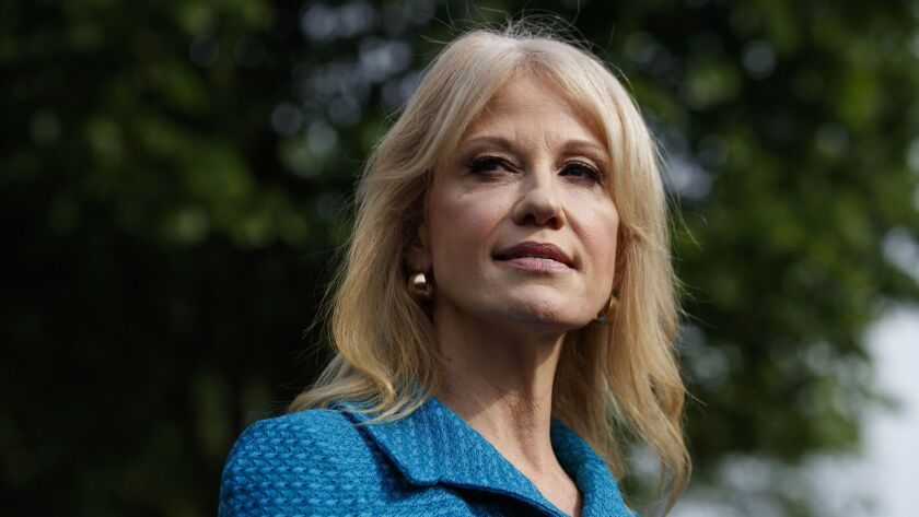A federal watchdog says Kellyanne Conway has repeatedly violated the Hatch Act by disparaging Democratic presidential candidates while speaking in her official capacity.