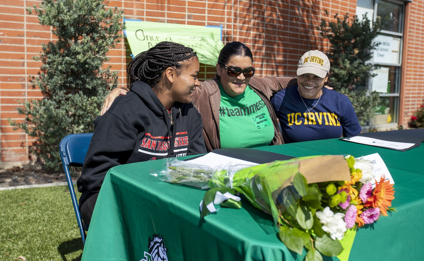 Photo Gallery: Signing day for Costa Mesa throwing twins