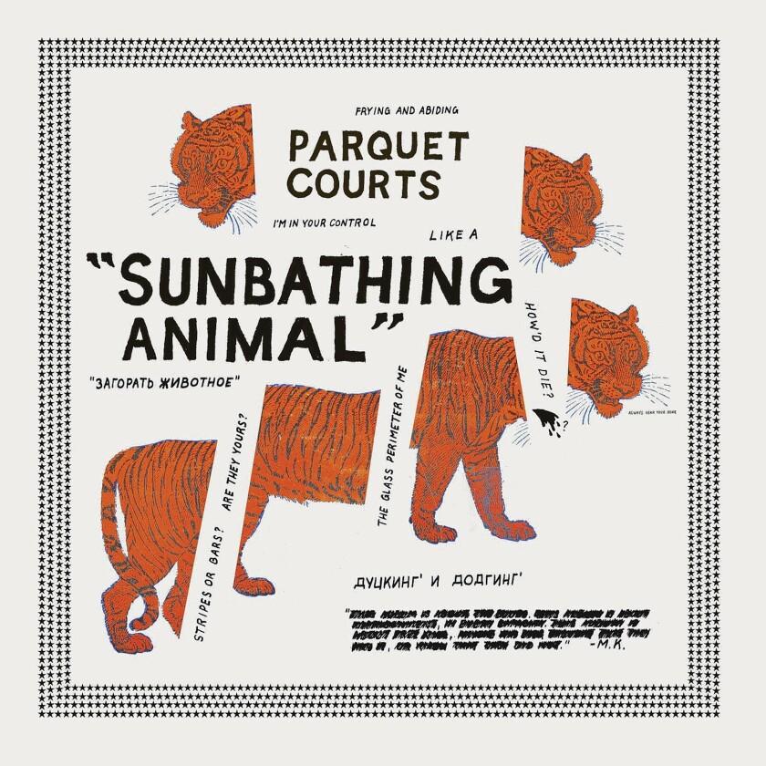 "Parquet Courts'  ""Sunbathing Animal"""