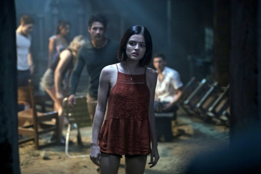 "LUCY HALE and TYLER POSEY lead the cast of ""Blumhouse's Truth or Dare,"" a supernatural thriller from Blumhouse Productions."