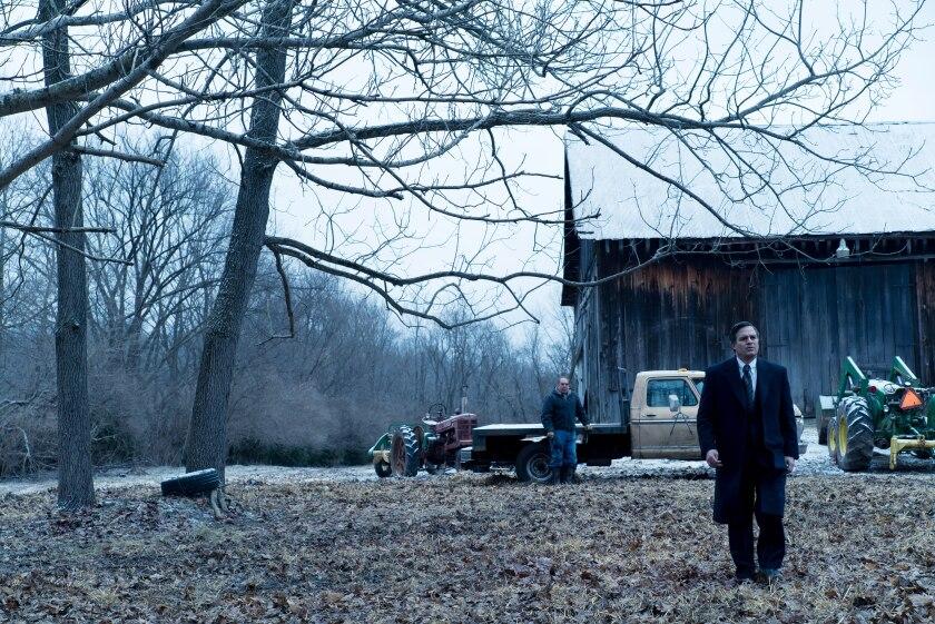 "Bill Camp and Mark Ruffalo in Todd Haynes' ""Dark Waters."""