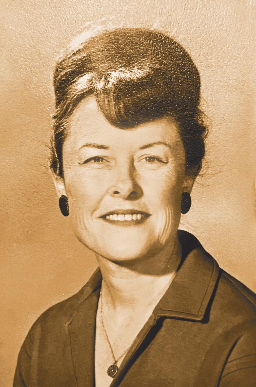 Ruth Christensen in 1963