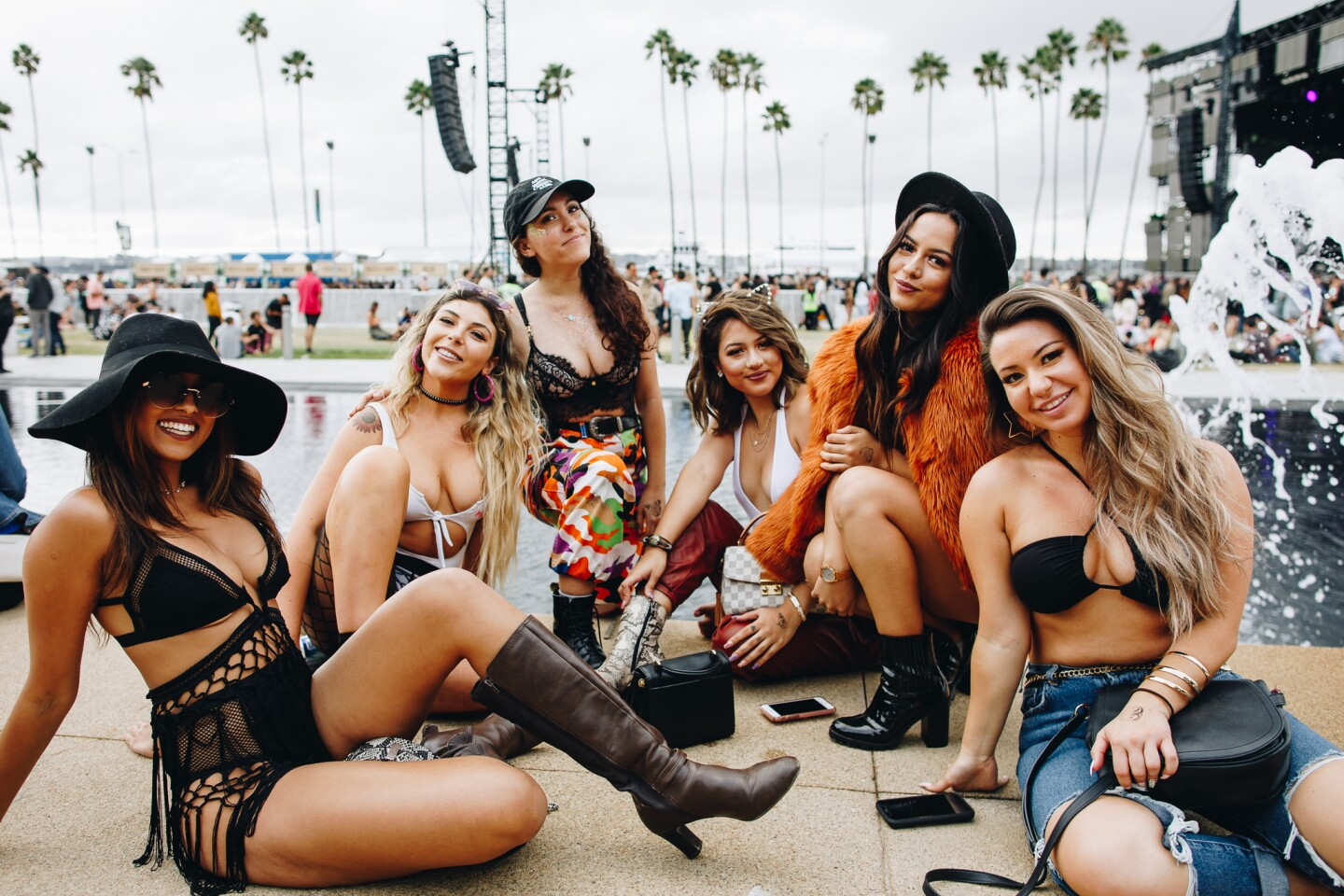 It was all about festival looks, live music and good times on Day One of CRSSD Fest at Waterfront Park on Saturday, Sept. 28, 2019.