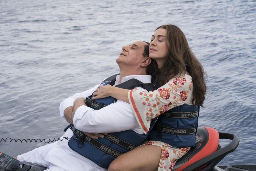 Toni Servillo and Elena Sofia Ricci in 'Loro'