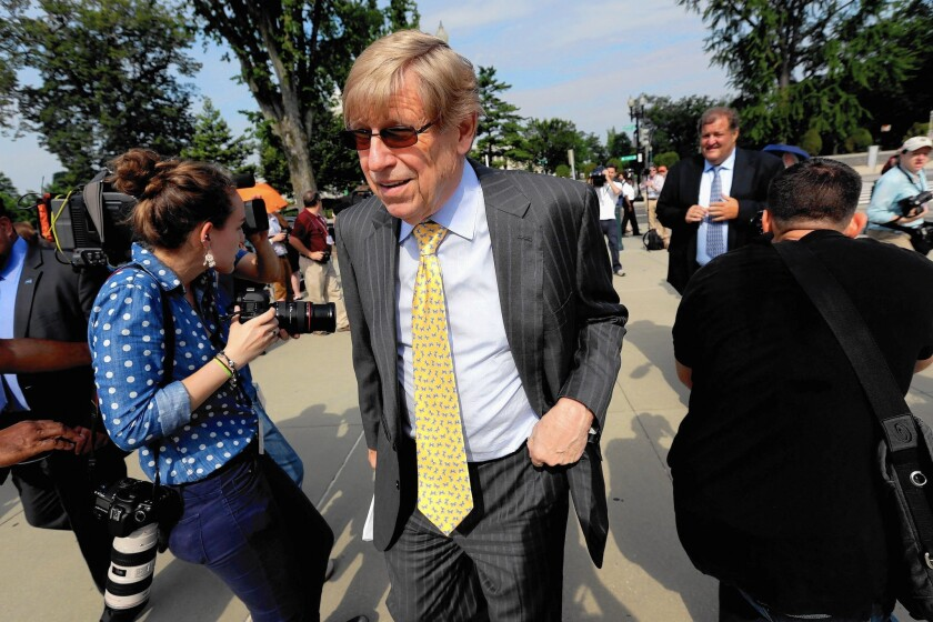Apple lawyer Ted Olson