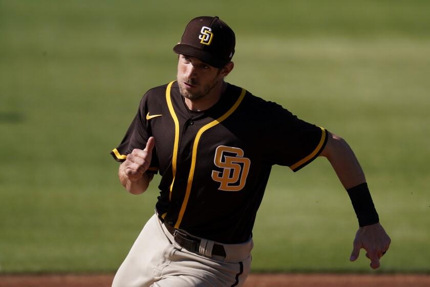 The Padres' Austin Nola