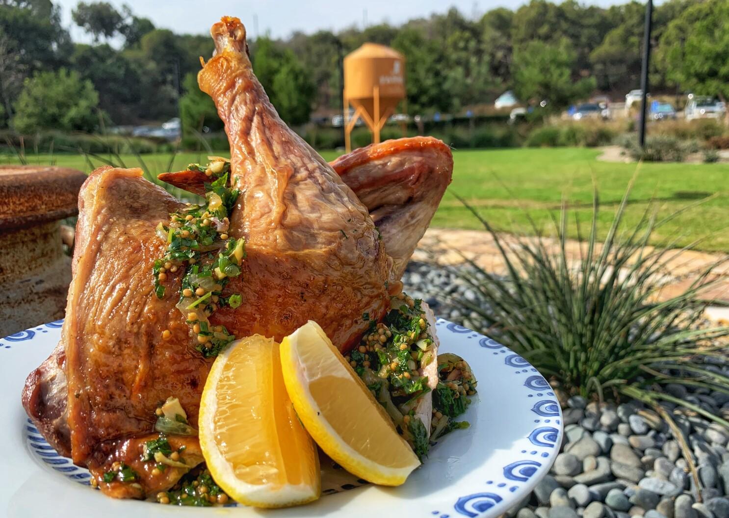 Turkey and gravy get West Coast treatment