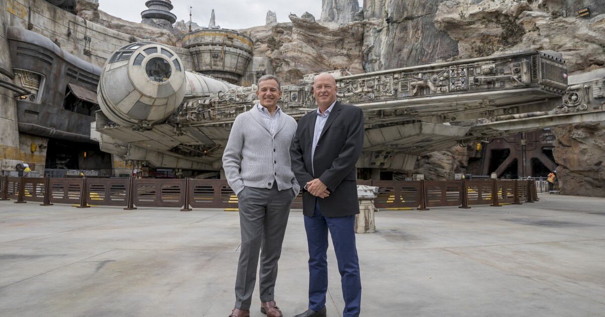 Who is Bob Chapek? He's no Bob Iger but he is steeped in Disney culture
