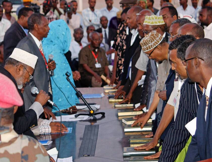Somalia has new parliament but no president yet