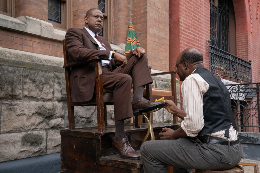 "Forest Whitaker in Epix's new period drama ""Godfather of Harlem."""
