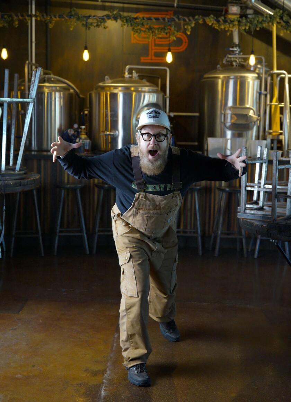 Scot Blair from South Park Brewing Company . (Nelvin C. Cepeda/Union-Tribune)