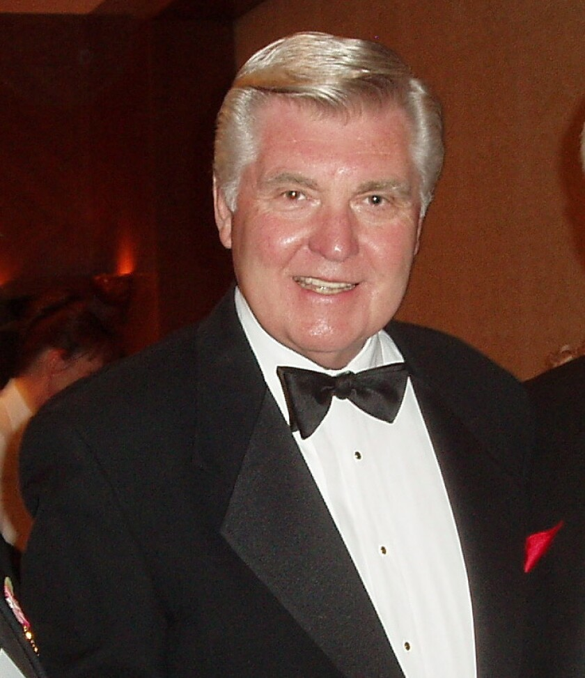 Jack White, a longtime anchor for KGTV's 10 News, passed away Oct. 30.