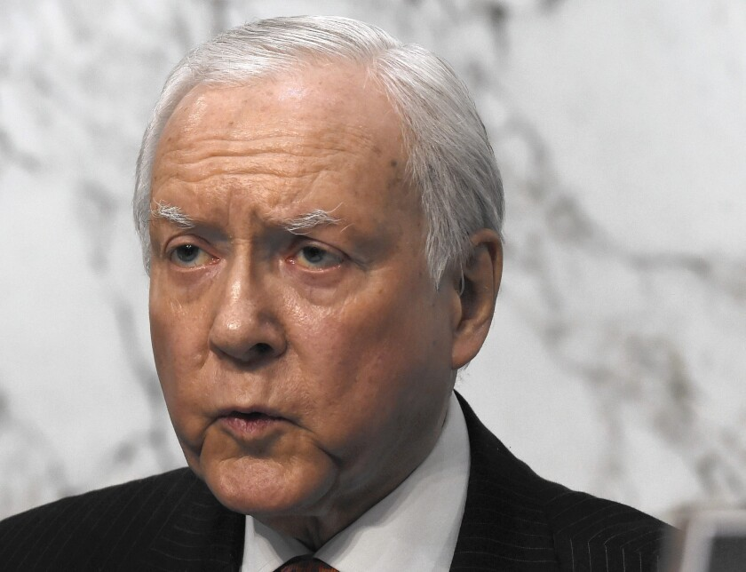 Senate Finance Committee Chairman Orrin G. Hatch (R-Utah) and two Republican colleagues outlined a plan titled the Patient Choice, Affordability, Responsibility and Empowerment Act.