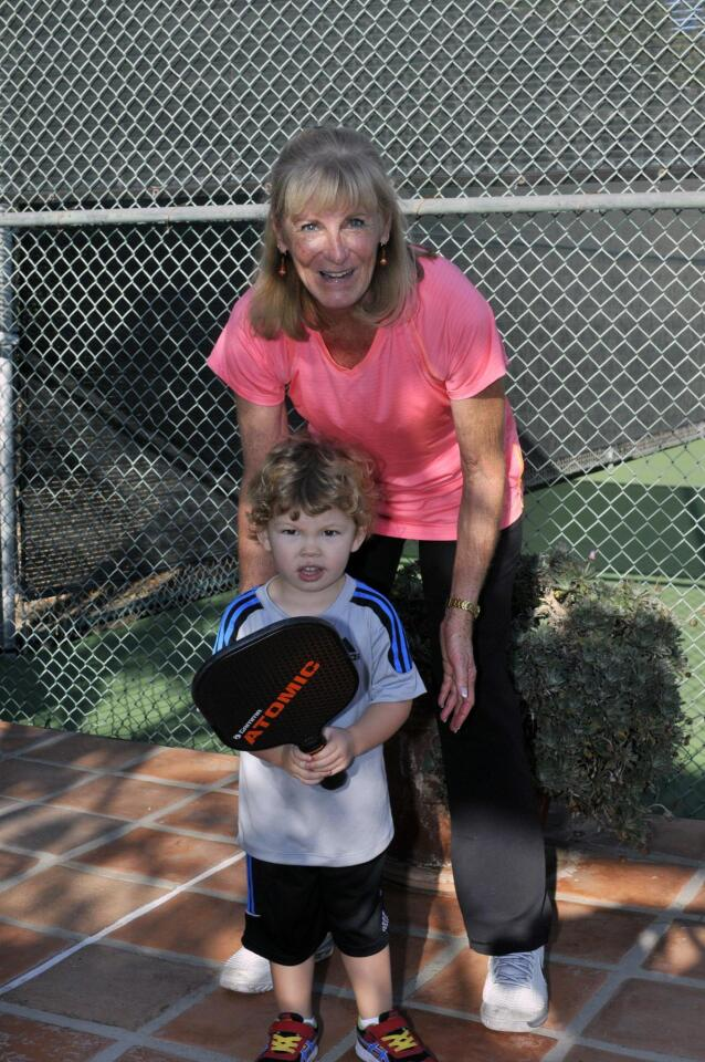 Valerie Ziegenfuss with grandson Matthew