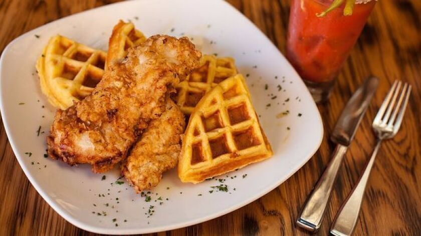 Union Kitchen + Tap Gaslamp will serve chicken and waffles Labor Day weekend.