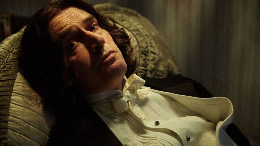 """Rupert Everett as Oscar Wilde in a scene from the movie """"The Happy Prince."""" Credit: Wilhelm Moser/So"""
