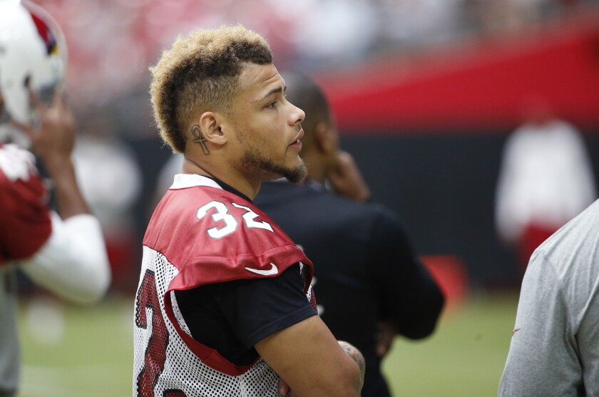 All-Pro Tyrann Mathieu is back at work