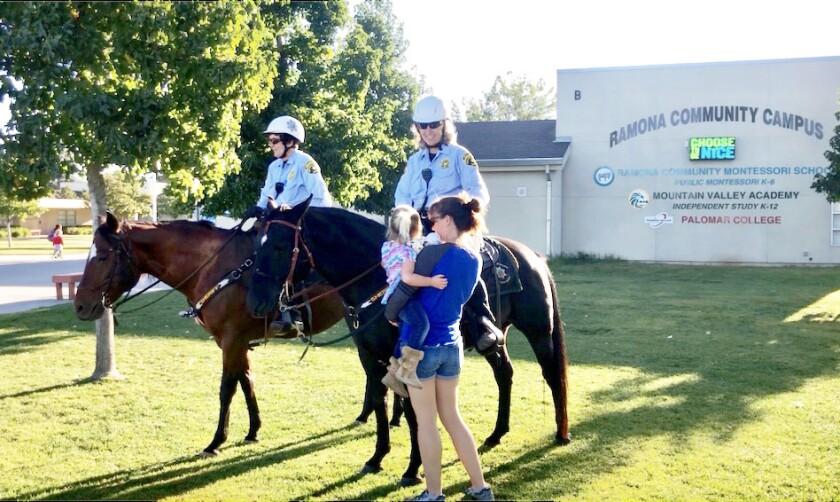 Ramona Mounted Patrol Volunteers