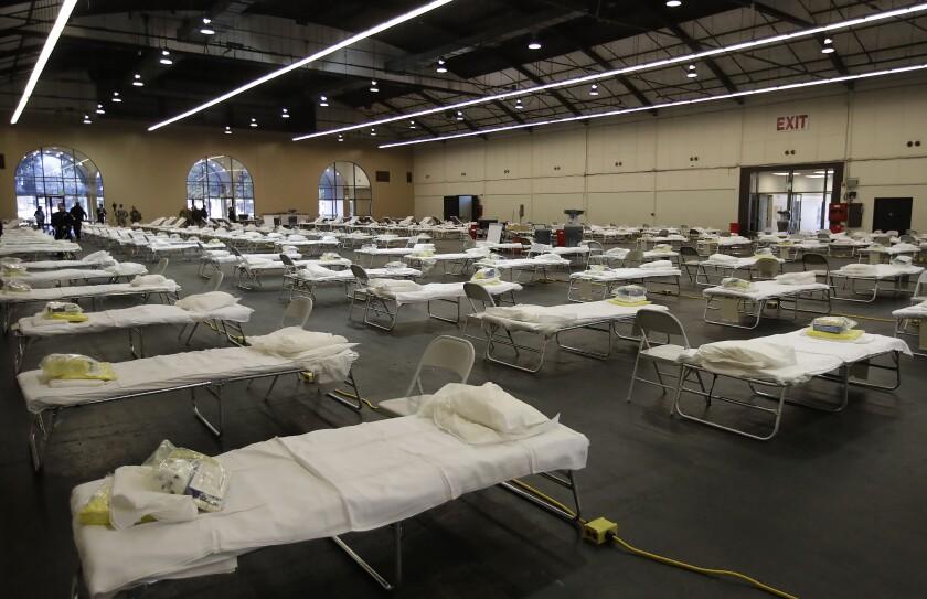Virus Outbreak California Health Corps