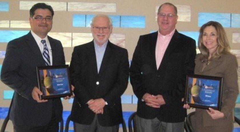 Pedro Villegas (SDG&E), Robert Svet, Bill Stone, Vicky Carlson (LEAD San Diego)