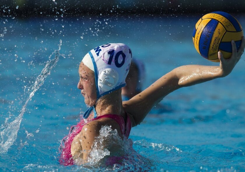 Girls' Water Polo: CdM puts it together