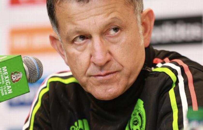 Juan Carlos Osorio, entrenador de la selección mexicana.