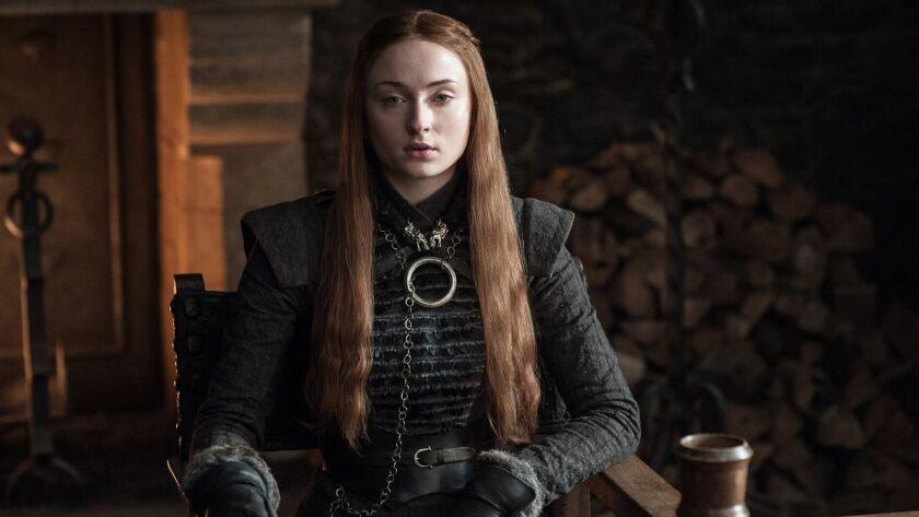 """Sophie Turner as Sansa Stark in HBO's """"Game of Thrones."""" Season 7 premieres July 16, 2017. Credit: H"""