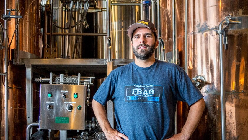 Paul Papantonio is the new brewer at Abigaile in Hermosa Beach.
