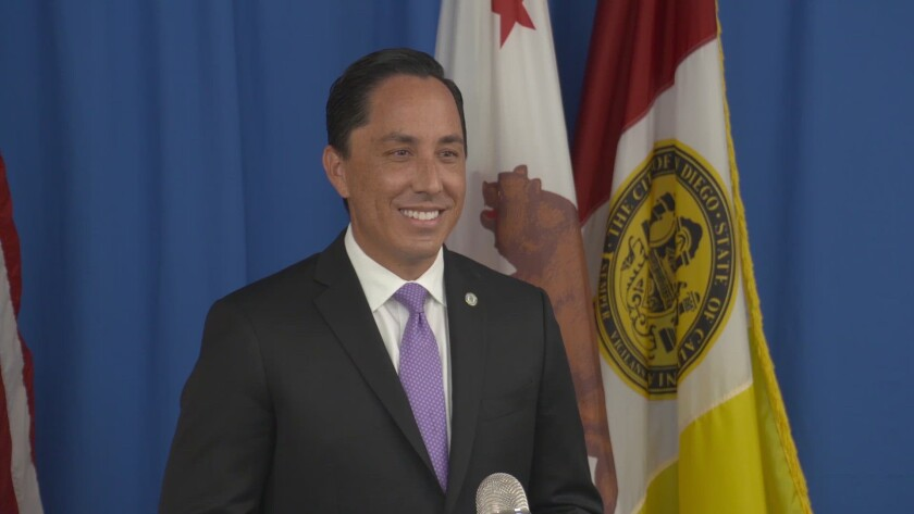 Mayor Todd Gloria.