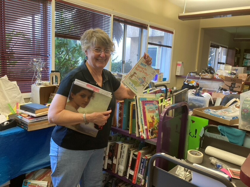 Laura Dennison is a co-chair of efforts to expand the Ocean Beach Library.