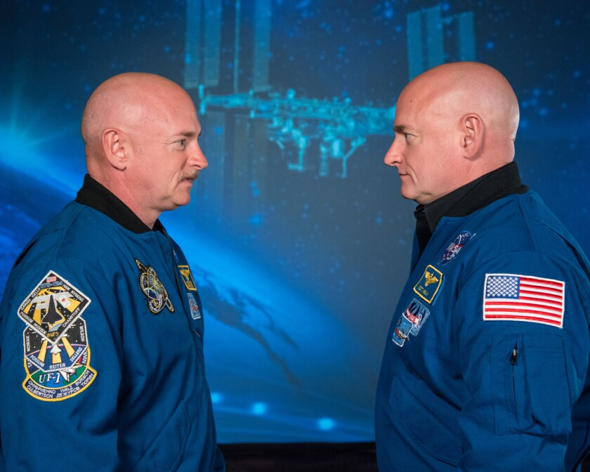 In preparation for sending humans to Mars, NASA turns astronaut twins into medical research subjects