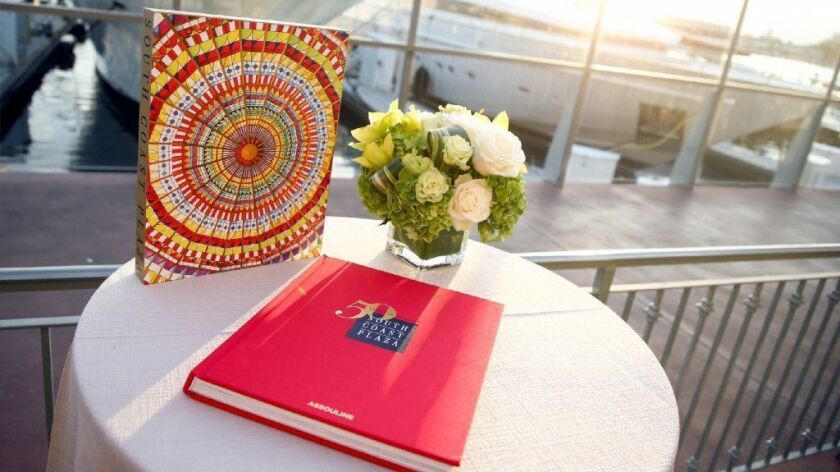 A book detailing South Coast Plaza's first 50 years is available for purchase from publisher Assouline. It costs $195.