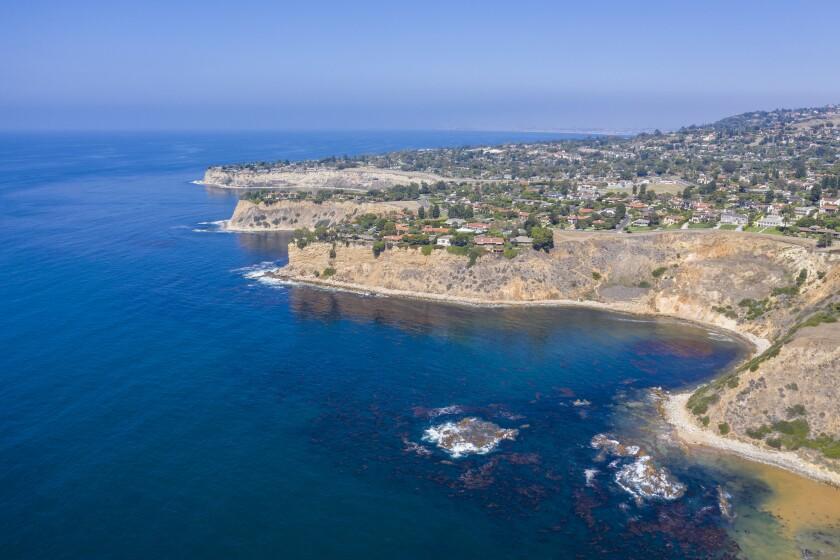 The Palos Verdes Peninsula.