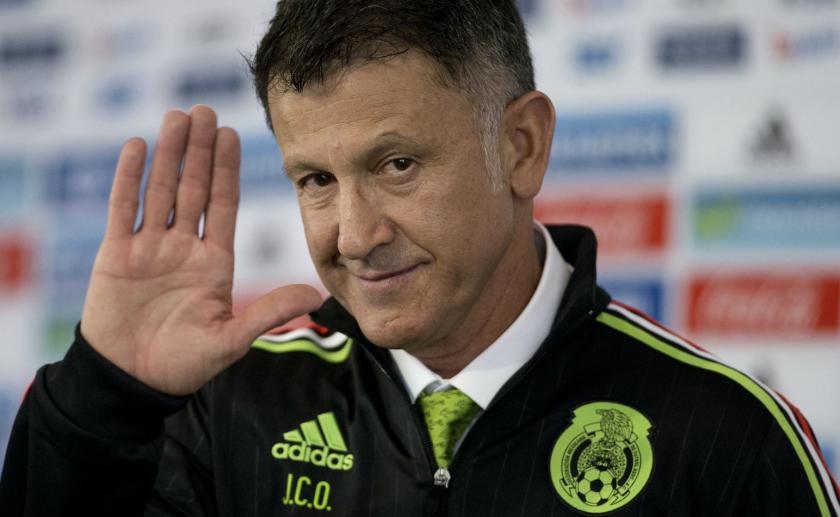 Juan Carlos Osorio, entrenador colombiano de México.