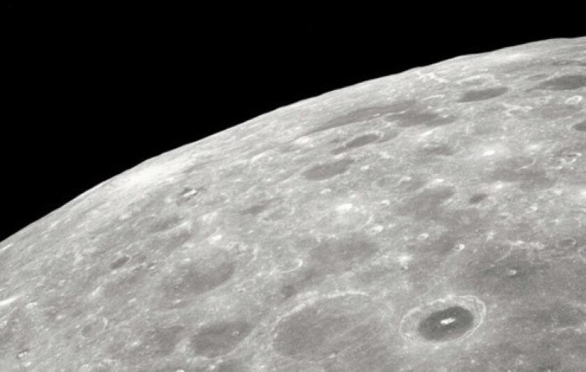 The NASA mission that plunged a rocket into the moon's surface last month detected about 25 gallons of water in the form of vapor and ice -- enough to inspire hope for a lunar colony.