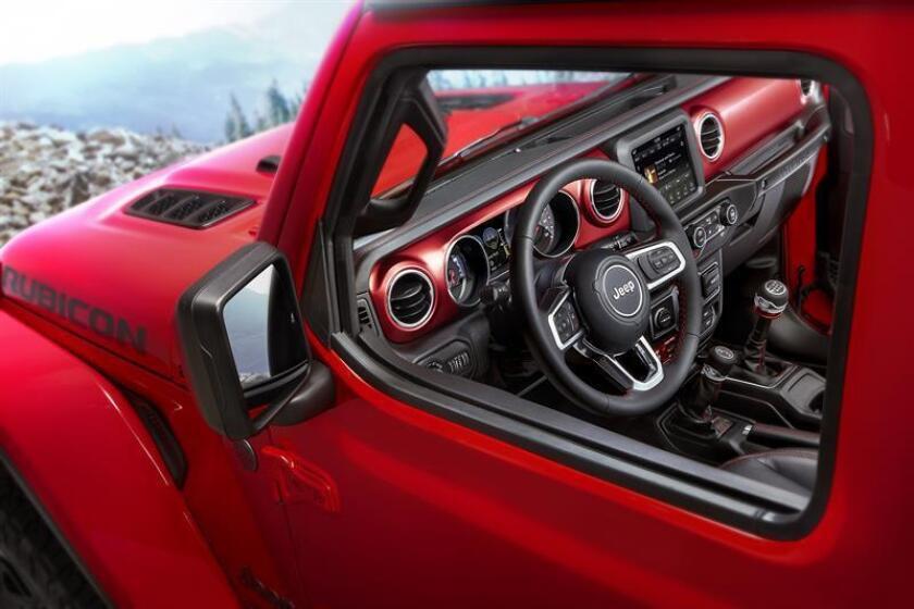 Jeep revela las primeras imágenes del interior del nuevo Wrangler