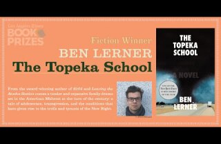 Los Angeles Times Book Prizes: Ben Lerner, Fiction