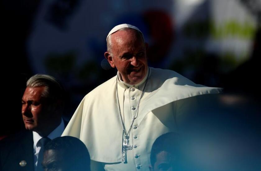 El papa Francisco asiste a un encuentro con voluntarios de la JMJ el domingo 27 de enero, durante la Jornada Mundial de la Juventud 2019 (JMJ), en Ciudad de Panamá (Panamá). EFE/Archivo