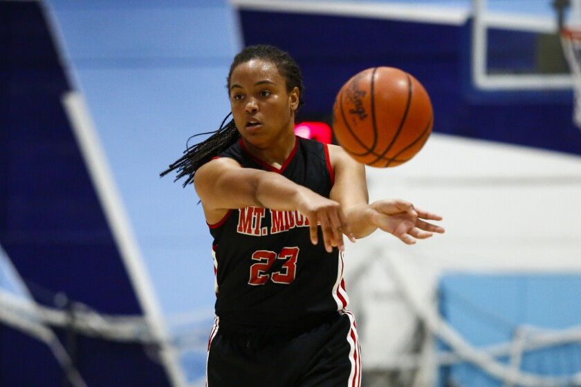 Sylena Peterson was the San Diego Section Player of the Year for Mount Miguel.