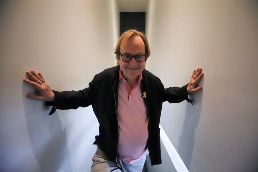 El director de cine catalán Ventura Pons posa para una foto durante una entrevista con Efe. EFE/Archivo