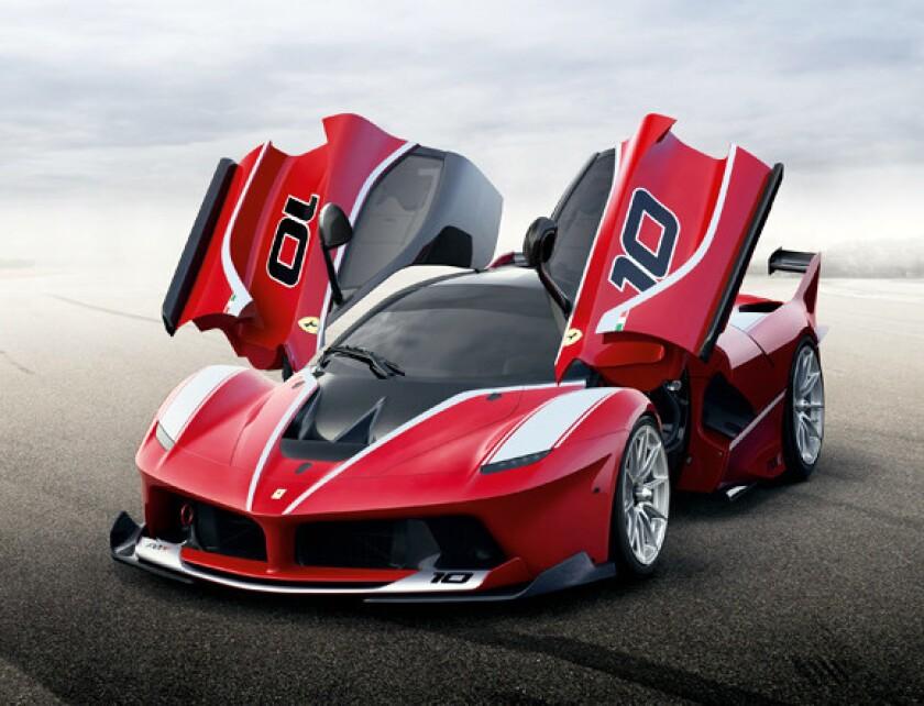 Los modelos FXX se mantienen y se almacenan de forma permanente en la sede de Ferrari en Maranello