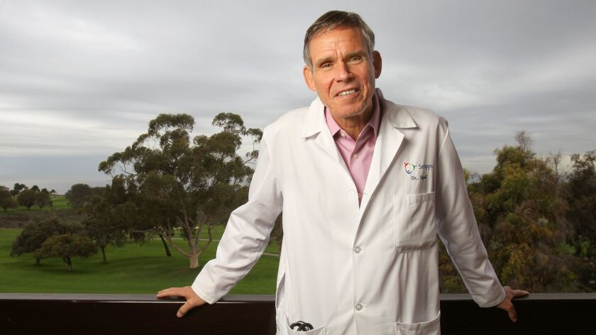 Cardiologist Dr. Eric Topol, chief academic officer for the Scripps Health network, will speak at a