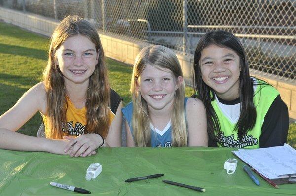 Jessie, Claire, Kyra
