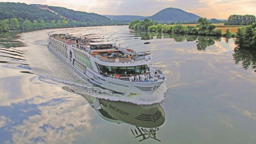 Celebrate Jane Austen on her namesake riverboat as it cruises the Rhine