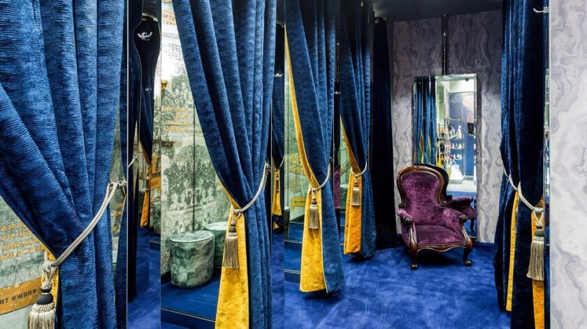 Ted Baker London's new Century City store.