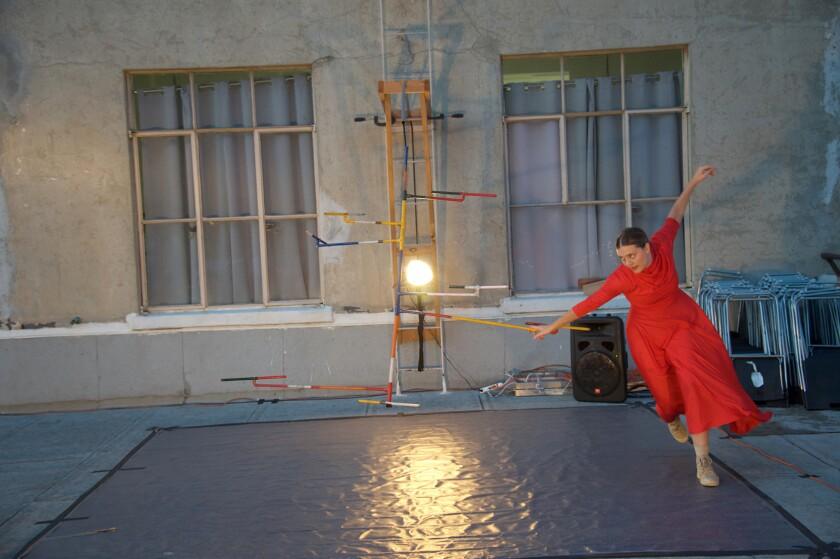 "Tess Hewlett will be part of Heidi Duckler Dance's new site-specific work, ""Hour of Hildegard."""