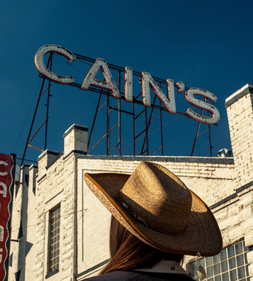 Cain's Ballroom, located in the Tulsa Arts District. /JOSEPH RUSHMORE for LOS ANGELES TIMES