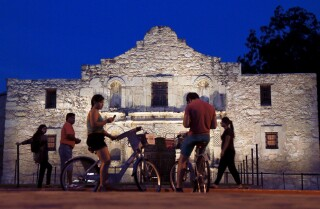 Postcards from the West | The Alamo