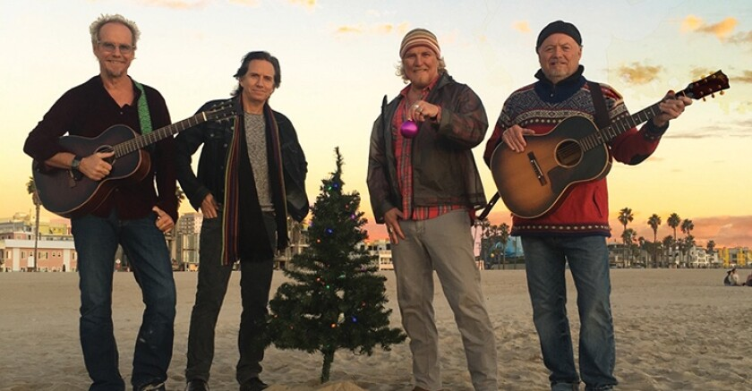 Hailing from the Los Angeles community of Venice, the four-man band Venice features two sets of brothers and two sets of cousins. They are returning to the Belly Up for their annual Christmas concert.